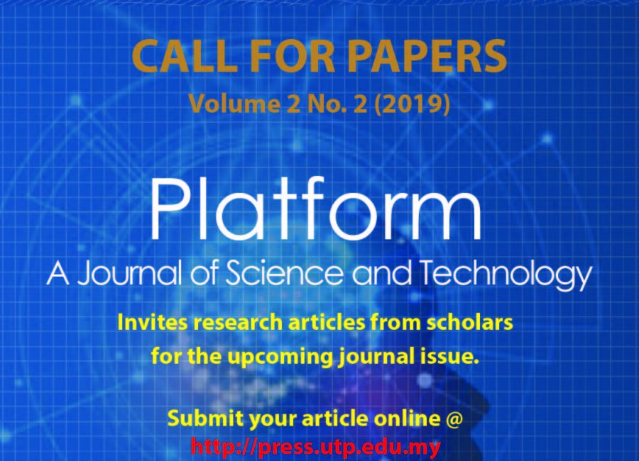 Call for Papers – Platform: A Journal of Science and Technology